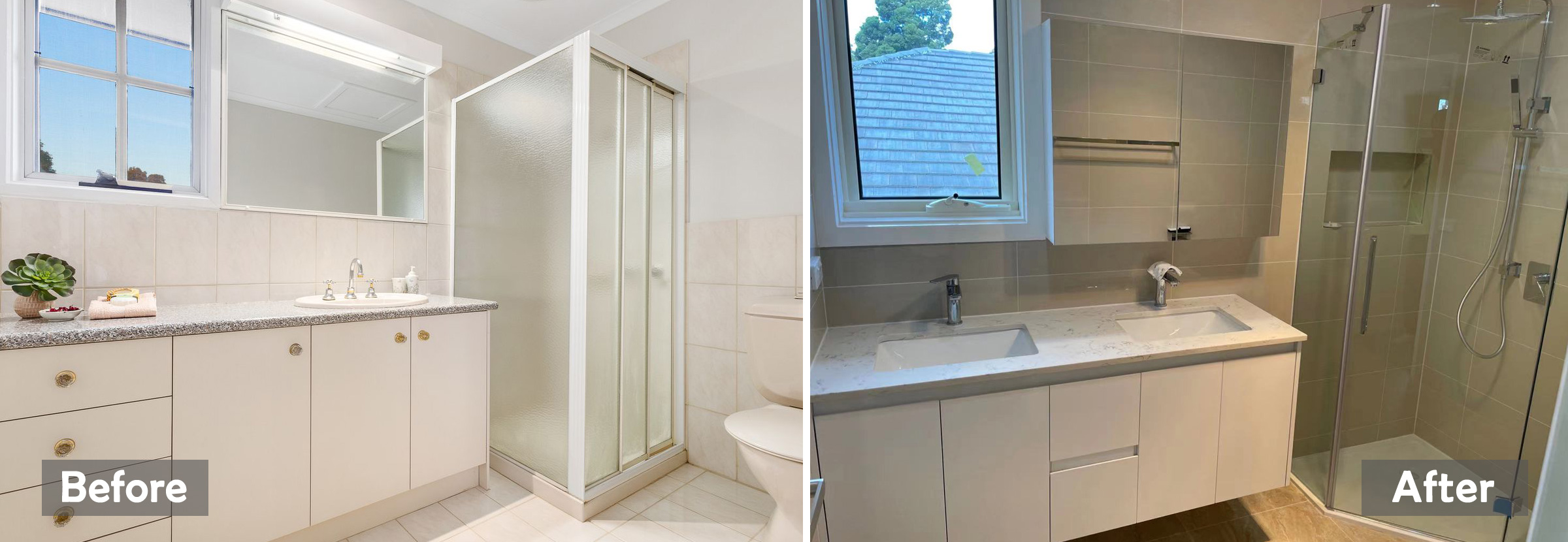 before after home extension melbourne